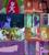 Size: 800x896 | Tagged: safe, edit, screencap, applejack, derpy hooves, fluttershy, pinkie pie, rainbow dash, rarity, spike, twilight sparkle, alicorn, dragon, earth pony, pegasus, pony, unicorn, amending fences, equestria girls, equestria girls (movie), fame and misfortune, feeling pinkie keen, slice of life (episode), the crystal empire, twilight's kingdom, canterlot high, door, flattened, golden oaks library, twilight sparkle (alicorn), unicorn twilight