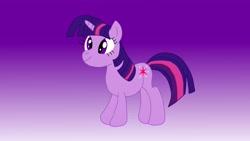 Size: 4320x2432 | Tagged: safe, artist:the double u, twilight sparkle, pony, unicorn, solo, unicorn twilight