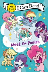 Size: 1000x1500 | Tagged: safe, applejack, fluttershy, pinkie pie, rainbow dash, rarity, twilight sparkle, alicorn, earth pony, pegasus, pony, unicorn, my little pony: pony life, book, mane six, merchandise, twilight sparkle (alicorn)