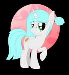 Size: 1806x1967 | Tagged: safe, artist:dyonys, oc, oc:sophia green, pony, unicorn, female, glasses, mare, raised hoof, simple background, transparent background