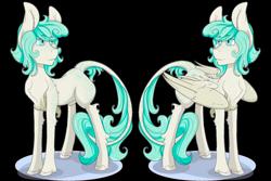 Size: 2992x2004 | Tagged: safe, artist:daniefox, oc, earth pony, pegasus, pony, female, mare, self ponidox, simple background, solo, transparent background