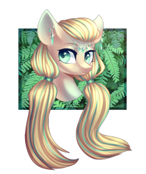Size: 1666x1983   Tagged: safe, artist:helemaranth, oc, oc only, earth pony, pony, bust, ear piercing, earth pony oc, piercing, simple background, solo, transparent background