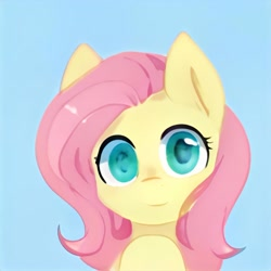 Size: 1024x1024 | Tagged: safe, artist:thisponydoesnotexist, artificial intelligence, cute, neural network, not fluttershy