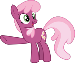 Size: 13038x11002 | Tagged: safe, artist:thatusualguy06, derpibooru exclusive, cheerilee, earth pony, pony, triple threat, .svg available, absurd resolution, cheeribetes, cute, female, mare, open mouth, pointing, show accurate, simple background, solo, svg, transparent background, vector