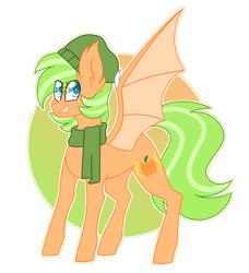 Size: 2722x2991   Tagged: safe, artist:crazysketch101, oc, oc only, oc:electric pumpkin, bat pony, pony, bat pony oc, bat wings, simple background, solo, white background, wings