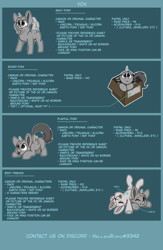 Size: 3000x4600 | Tagged: safe, artist:rokosmith26, oc, pony, advertisement, belly, box, chibi, commission, crouching, cute, duo, eyes closed, face down ass up, happy, horn, looking up, one eye closed, pony in a box, roko's box ponies, simple background, solo, standing, tail, text, wings, ych example, your character here