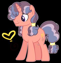 Size: 1635x1686 | Tagged: safe, artist:twinklecometyt, oc, pony, unicorn, magical lesbian spawn, male, offspring, parent:clear sky, parent:saffron masala, simple background, solo, stallion, transparent background
