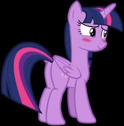 Size: 1280x1297   Tagged: safe, artist:andoanimalia, twilight sparkle, alicorn, pony, equestria girls, equestria girls series, forgotten friendship, blushing, butt, female, mare, plot, simple background, solo, transparent background, twibutt, twilight sparkle (alicorn), vector