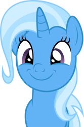 Size: 2000x3009 | Tagged: safe, artist:luckreza8, trixie, happy, vector