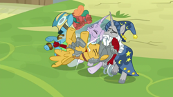 Size: 1920x1080   Tagged: safe, screencap, flash magnus, meadowbrook, mistmane, star swirl the bearded, the ending of the end