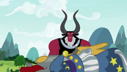 Size: 1920x1080   Tagged: safe, screencap, flash magnus, lord tirek, star swirl the bearded, the ending of the end