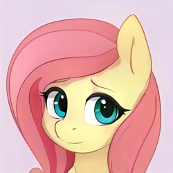 Size: 1024x1024 | Tagged: safe, artist:thisponydoesnotexist, oc, oc:smooth cream, pony, character named in the comments, cute, female, mare, name suggestion in the comments, neural network, not fluttershy