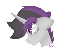 Size: 1056x750   Tagged: safe, artist:inky scroll, oc, oc only, oc:inky scroll, pony, unicorn, bust, glasses, simple background, transparent background