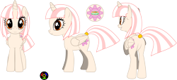 Size: 6083x2771 | Tagged: safe, artist:kyoshyu, oc, oc:carrot cake, alicorn, pony, absurd resolution, butt, female, mare, plot, simple background, solo, transparent background, vector