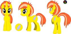 Size: 5903x2851 | Tagged: safe, artist:kyoshyu, oc, oc:cracked crystal, pony, unicorn, absurd resolution, butt, female, mare, plot, simple background, solo, transparent background