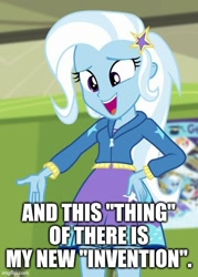 Size: 429x600 | Tagged: safe, edit, edited screencap, screencap, trixie, equestria girls, equestria girls series, forgotten friendship, text
