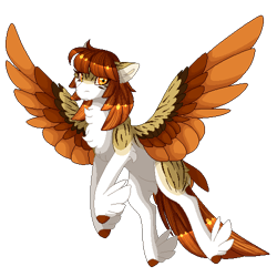 Size: 500x500 | Tagged: safe, artist:nobleclay, oc, oc:dove, pegasus, pony, colored wings, feathered fetlocks, female, mare, multicolored wings, pixel art, simple background, solo, tail feathers, transparent background, wings