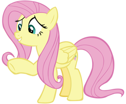 Size: 9715x8000 | Tagged: safe, artist:laszlvfx, fluttershy, pony, absurd resolution, simple background, solo, transparent background, vector