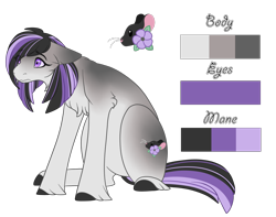 Size: 1264x998 | Tagged: safe, artist:nobleclay, oc, oc:mouse, earth pony, pony, female, floppy ears, mare, reference sheet, simple background, solo, transparent background