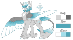 Size: 1800x986 | Tagged: safe, artist:nobleclay, oc, oc:tinsel, alicorn, pony, colored wings, feathered fetlocks, female, mare, multicolored wings, reference sheet, simple background, solo, tail feathers, transparent background, wings