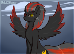 Size: 3000x2200 | Tagged: safe, artist:phlerius, oc, pony, digital art, my little pony, solo