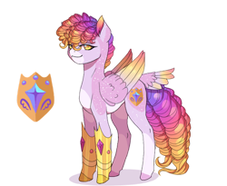 Size: 1280x1051 | Tagged: safe, artist:ciown-prince, oc, oc:guardian snow, pegasus, pony, colored wings, male, multicolored wings, simple background, stallion, tail feathers, transparent background, wings