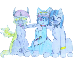 Size: 2196x1696 | Tagged: safe, artist:fliegerfausttop47, derpibooru exclusive, edit, king sombra, nurse redheart, princess celestia, oc, oc only, bat pony, cat, cat pony, changeling, hybrid, original species, arm fluff, asexual, asexual pride flag, asexuality, bandana, bat pony oc, bat wings, blind eye, bracelet, cat ears, central heterochromia, changeling oc, cheek fluff, chest fluff, christmas, claws, clothes, coronavirus, covid-19, cute, cute little fangs, drawing, ear fluff, electricity, electricity magic, face mask, fangs, female, femboy, first time, fluffy, fluffy changeling, happy, hat, helmet, heterochromia, holiday, holster, hug, jewelry, leg fluff, looking at you, male, mask, ocbetes, paws, pencil, pet tag, pet tags, plushie, pride, pride flag, santa hat, scarf, shoulder fluff, simple background, sitting, smiling, sniper, tail, tongue out, toy, traditional art, traditional drawing, transparent background, venezuela, visor, wall of tags, wings, yellow changeling, yellow eyes