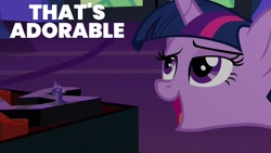 Size: 1000x563 | Tagged: safe, edit, edited screencap, editor:quoterific, screencap, twilight sparkle, uncommon bond, solo