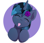 Size: 2058x2000 | Tagged: safe, artist:starlight, discord, pony, commission, cute, profile picture, shading