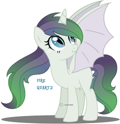 Size: 2528x2600 | Tagged: safe, artist:lazuli, artist:princesssombra, oc, oc:fire quartz, dracony, hybrid, pony, base used, dragon wings, horn, interspecies offspring, offspring, parent:rarity, parent:spike, parents:sparity, simple background, slit eyes, solo, transparent background, wings