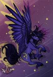 Size: 2400x3500   Tagged: safe, oc, oc only, alicorn, fly, insect, pegasus, pony, unicorn, horn, solo, wings