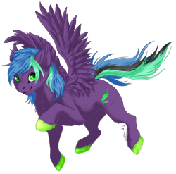 Size: 1846x1824 | Tagged: safe, artist:requiem♥, oc, oc:zolifer, pegasus, colored hooves, cute, solo