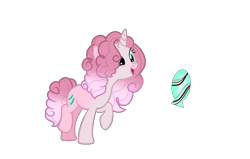 Size: 2227x1415 | Tagged: safe, artist:firegalaxysparkle, oc, pony, unicorn, female, magical lesbian spawn, mare, offspring, parent:fleur-de-lis, parent:pinkie pie, simple background, solo, transparent background