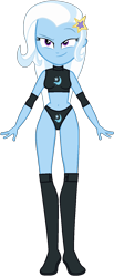 Size: 632x1535 | Tagged: safe, artist:m-brony96, trixie, equestria girls, belly button, sports, wrestling
