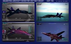 Size: 3061x1912 | Tagged: safe, artist:lonewolf3878, screencap, tempest shadow, aircraft, f-14 tomcat, new lunar republic, skins, vector thrust, video game, warplane