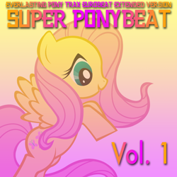 Size: 1300x1300 | Tagged: safe, fluttershy, pegasus, female, solo, super ponybeat