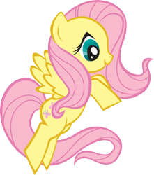 Size: 1587x1792 | Tagged: artist needed, safe, fluttershy, pegasus, female, simple background, solo, transparent background