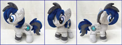 Size: 1600x589 | Tagged: safe, artist:lilmoon, oc, pegasus, pony, chibi, irl, photo, plushie, solo
