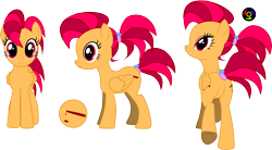 Size: 5791x3197 | Tagged: safe, artist:kyoshyu, oc, oc:burning candle, pegasus, pony, absurd resolution, butt, female, mare, plot, simple background, solo, transparent background, vector