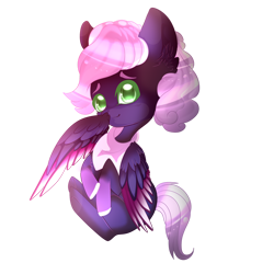Size: 1024x1024 | Tagged: safe, artist:sakimiaji, oc, oc only, oc:mangosteen, simple background, solo, transparent background