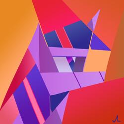 Size: 4500x4500 | Tagged: safe, artist:docwario, twilight sparkle, pony, unicorn, abstract, cubism, modern art, solo, twitober
