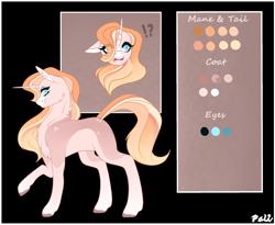 Size: 2442x2000 | Tagged: safe, artist:pokaparida, oc, pony, unicorn, female, mare, offspring, parent:starlight glimmer, parent:sunburst, parents:starburst, reference sheet, simple background, solo, transparent background