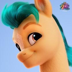 Size: 1080x1080 | Tagged: safe, hitch trailblazer, g5, my little pony: a new generation, solo