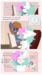 Size: 1241x2178 | Tagged: safe, artist:kebchach, oc, oc:kebchach, oc:starlyfly, earth pony, unicorn, comic, patreon