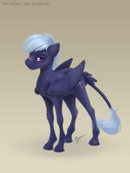 Size: 1350x1800 | Tagged: safe, artist:yarugreat, oc, oc only, oc:gili fast, pegasus, pony, solo