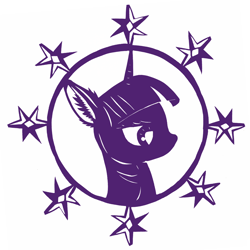 Size: 2448x2448 | Tagged: safe, artist:lshbz, twilight sparkle, alicorn, pony, craft, cut paper, ear fluff, female, mare, paper snowflake, papercraft, silhouette, simple background, solo, twilight sparkle (alicorn), white background