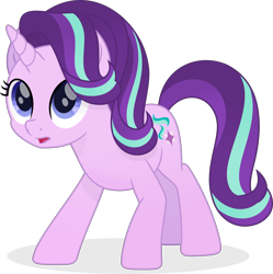 Size: 3432x3447   Tagged: dead source, safe, artist:pumpkinpieforlife, starlight glimmer, pony, unicorn, my little pony: the movie, concerned, female, looking up, mare, movie accurate, simple background, transparent background, vector