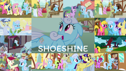 Size: 1974x1112 | Tagged: safe, edit, edited screencap, editor:quoterific, screencap, all aboard, amethyst star, angel bunny, berry punch, berryshine, bon bon, cherry berry, daisy, flower wishes, fluttershy, goldengrape, lightning riff, linky, lock heart, lyra heartstrings, meadow song, rainbow dash, roseluck, rosy pearl, sassaflash, shoeshine, sir colton vines iii, sparkler, spike, sweetie drops, twilight sparkle, dragon, pegasus, pony, rabbit, unicorn, a hearth's warming tail, between dark and dawn, dragonshy, friendship university, games ponies play, it isn't the mane thing about you, magic duel, putting your hoof down, secrets and pies, the big mac question, the super speedy cider squeezy 6000, the ticket master, winter wrap up, angry, animal, background pony, carrot, christmas wreath, clothes, clothes line, eating, eyes closed, female, floppy ears, flower, food, glasses, golden oaks library, gritted teeth, hoof hold, las pegasus resident, meme, mouth hold, on stomach, open mouth, pointing, rose, shoeshine's window, sitting, sitting lyra, sugarcube corner, teeth, train, unicorn twilight, vest, walking, wreath