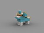 Size: 1024x768 | Tagged: safe, artist:solarmod, oc, oc:nootaz, lego, solo, stud.io