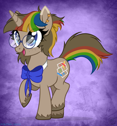 Size: 3368x3624 | Tagged: safe, artist:108-zeroforce, artist:starshade, oc, oc only, pony, unicorn, base used, bow, character needed, commission, cute, female, glasses, mare, oc needed, simple background, solo, starry eyes, stars, wingding eyes, ych result, your character here